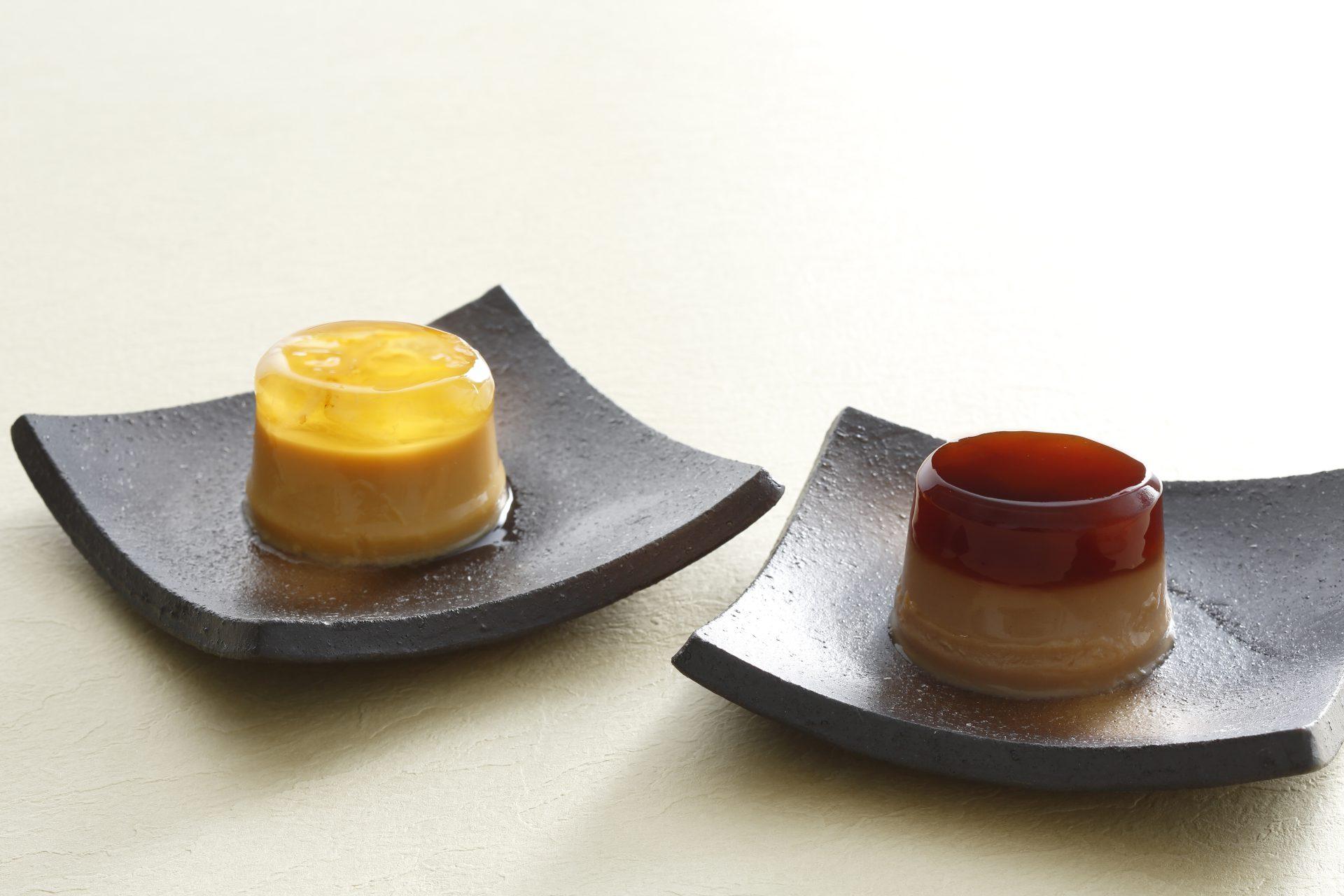 タルトタタンプリン/柚子茶プリン