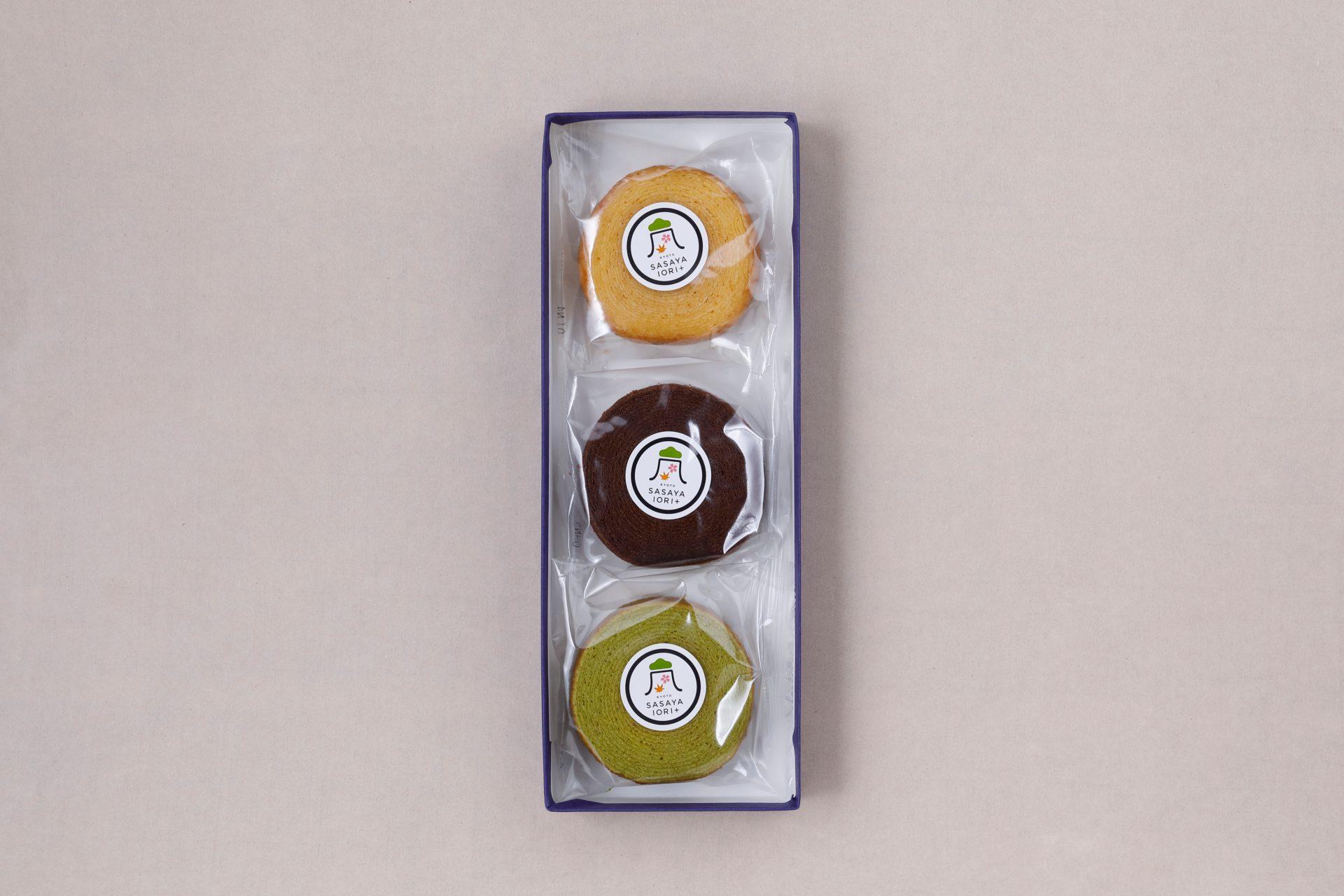 バームクーヘン バニラ/チョコ/抹茶