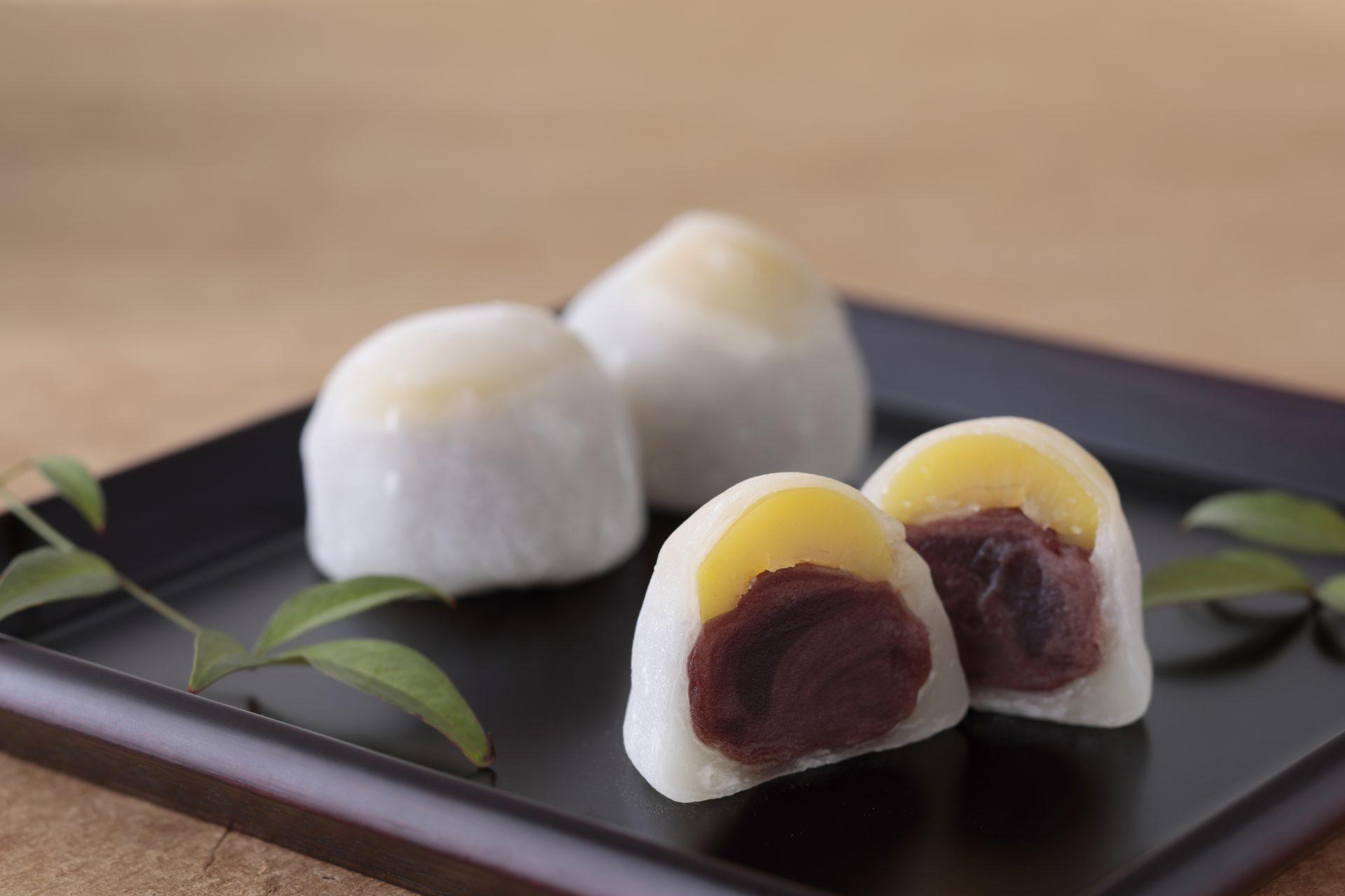 栗餅(2個入・4個入) オンラインショップ数量限定販売!